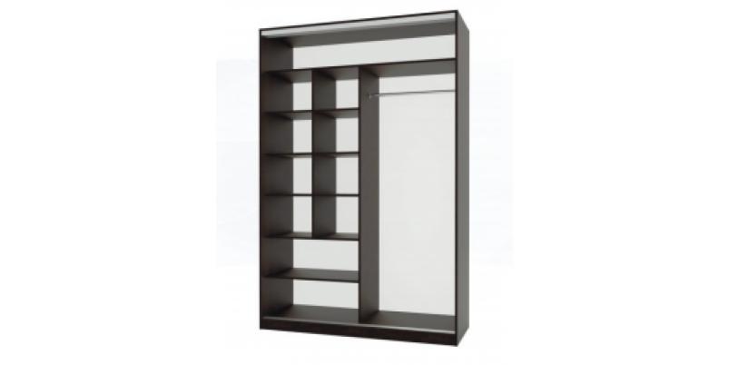 Шкаф-купе «Белиз» (зеркало с пескоструйным рисунком)