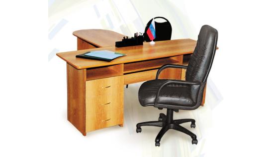 Стол руководителя «Офис-1» с профилем