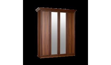 Шкаф 4-х дв. «Европа-7» (с зеркалами)