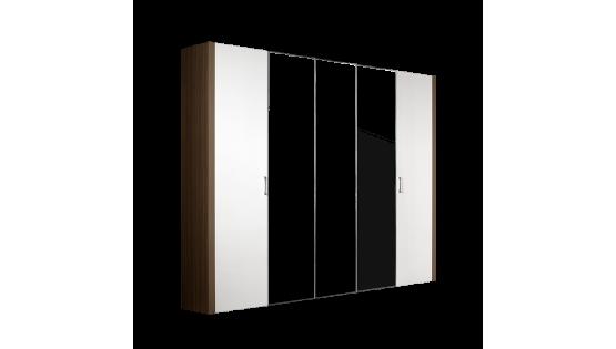 Шкаф «Арго» 5-ти дв. (с зеркалами)