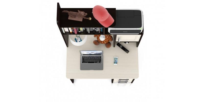 Стол компьютерный МД-СК-8 (дуб/венге)