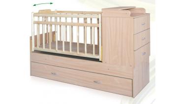 Детская кроватка «Малышка-7»