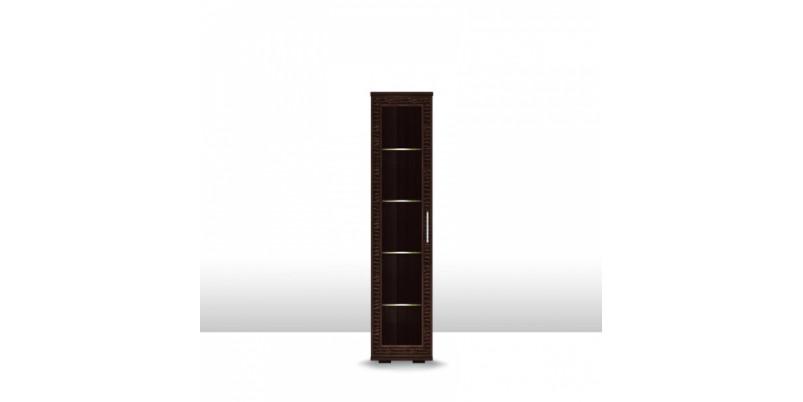 шкаф низкий со стеклом 400