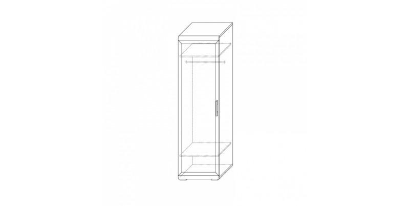 шкаф для одежды 600 х 554