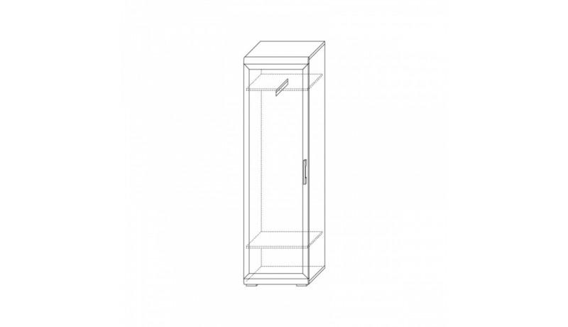 шкаф для одежды 600 х 414