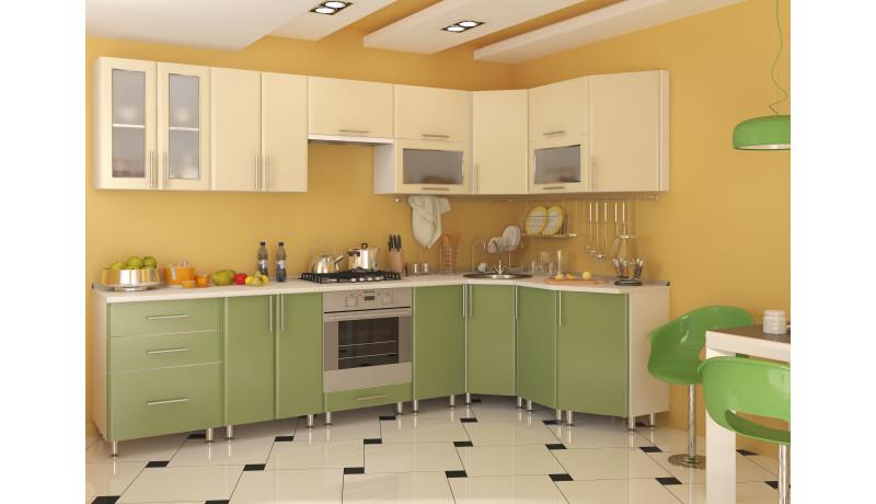 Кухня «Агнетта» пластик 3000х1600