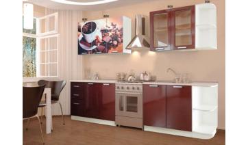 Кухня «Шоколад» без этажерок