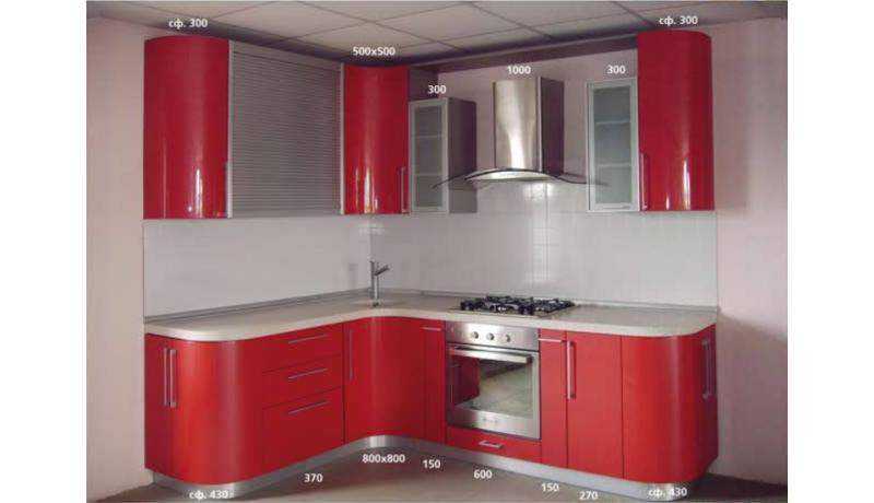 Кухня «Рубин»