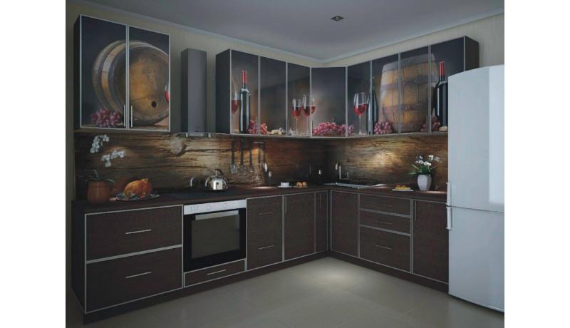Кухня «Винный погреб»