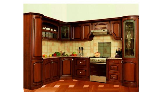Кухня «Ария» угловая