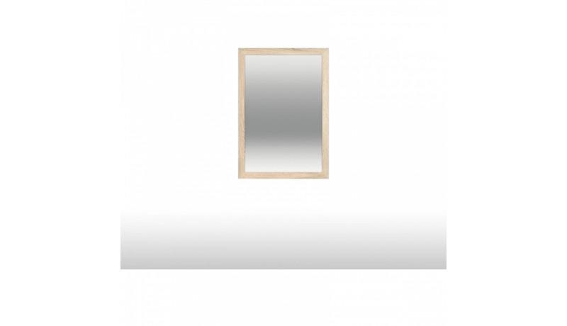 зеркало над тумбой высокой двухдверной