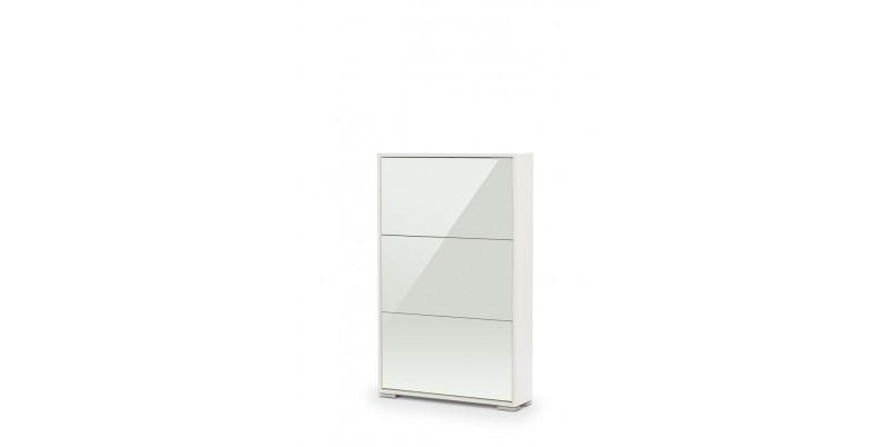 Обувница VIVA-3 (белый с зеркалом)