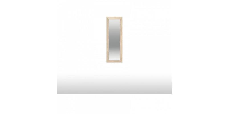 зеркало над тумбой высокой однодверной