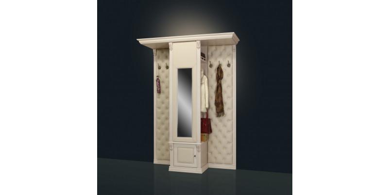 Шкаф для одежды с зеркалом и бра Б5.13