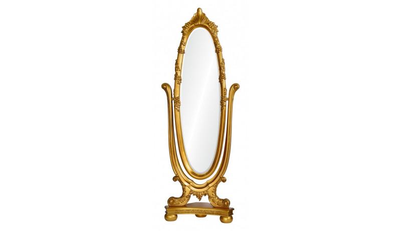 Зеркало Lydia золото
