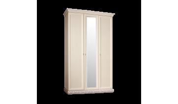Шкаф «Тиффани» 3-х дверный с зеркалом