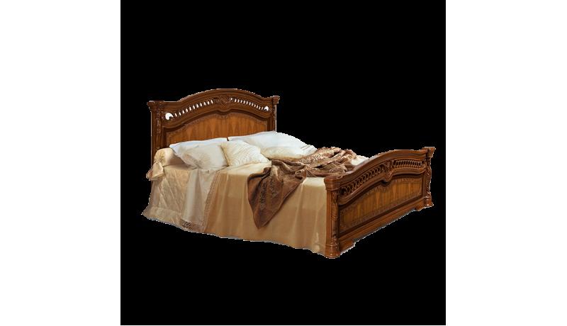 Кровать 2-х спальная (1,6 м) (1 спинка - шелкография)
