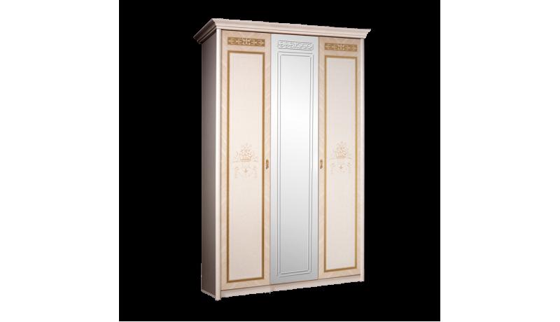 Шкаф 3-х дв. «Карина-3» (с зеркалом)