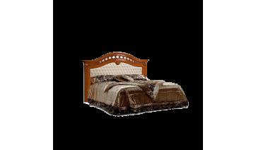 Кровать «Европа-7» (1,6 м) (Delia) с одной мягкой спинкой