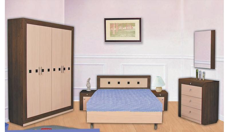 Спальный гарнитур «Сакура-1»