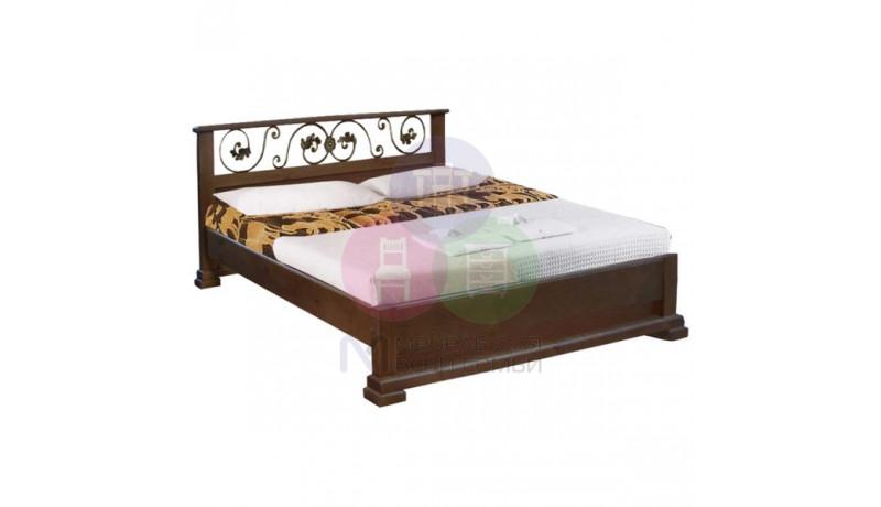 """Кровать """"Бажена"""" с кованым декором"""""""