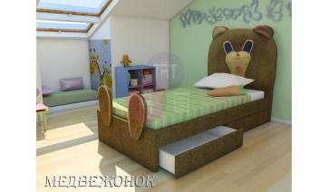 Кровать «Медвежонок»