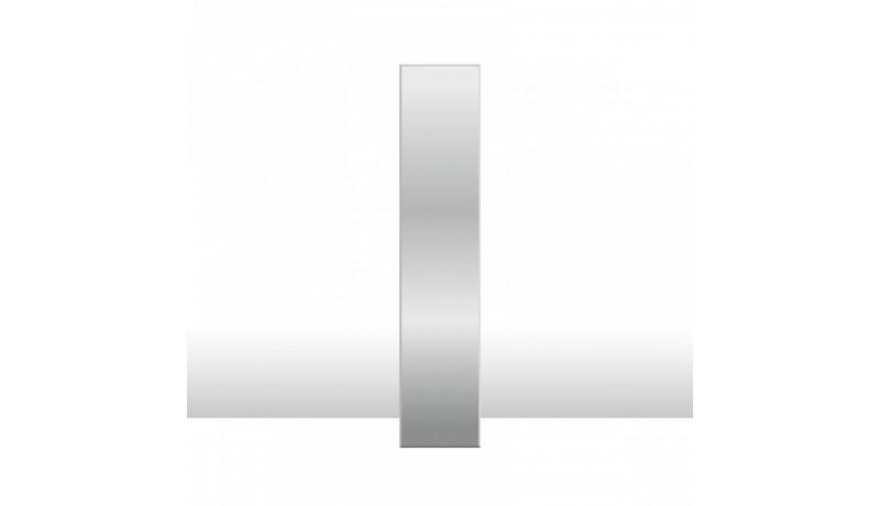 фасад двери с зеркалом (без дверной ручки)