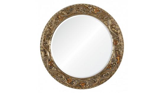 Зеркало Afina Античное серебро с золотым напылением