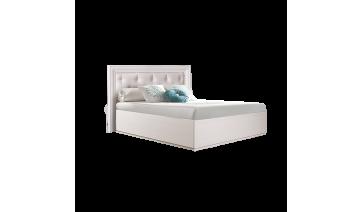 Кровать «Амели» (1,4 м) с мягким элементом с подъемным механизмом