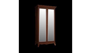Шкаф «Амели» 2-х дв. (с зеркалами) на ножках