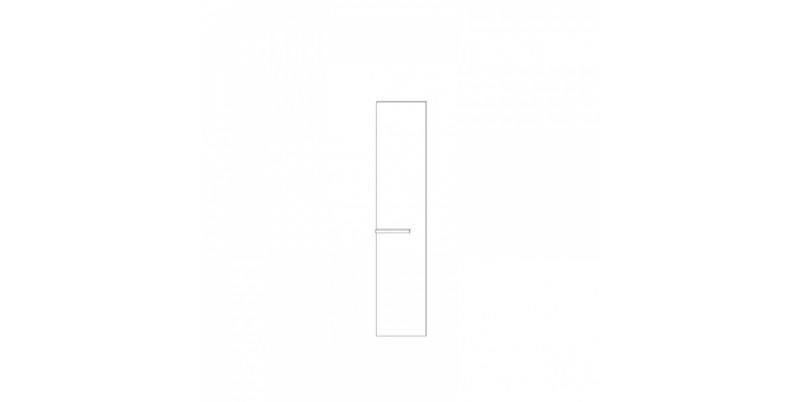 фасад двери глухой (с дверной ручкой)