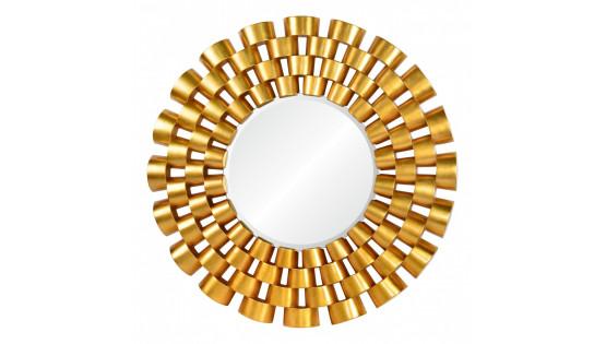 Зеркало Chloe золото