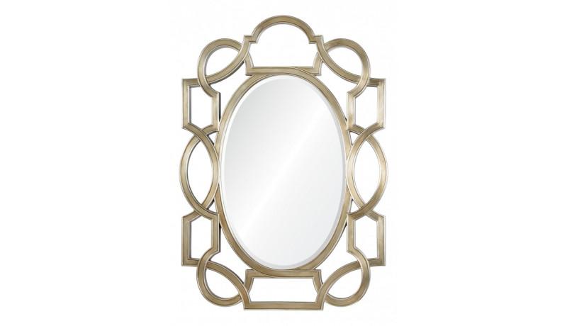 Зеркало Manhettan серебро