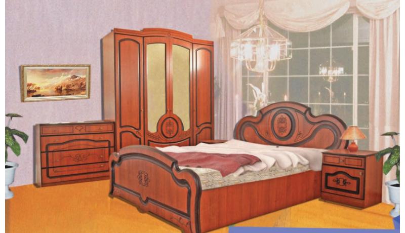 Спальный гарнитур «Оливия»