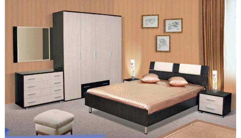 Спальный гарнитур «Латфира»