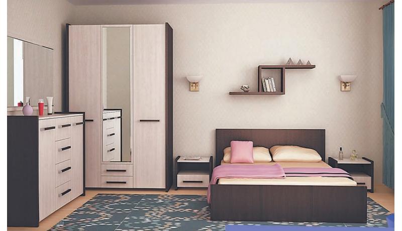 Спальный гарнитур «Соренто-1»