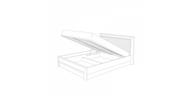 кровать-1 с подъемным основанием 1800