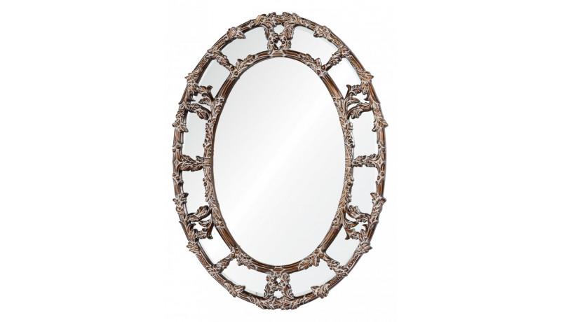 Зеркало Florence золото с белым напылением