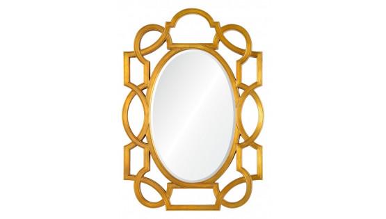 Зеркало Manhettan золото