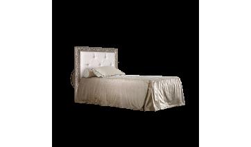 Кровать «Тиффани» (1,2 м) с мягким элементом со стразами