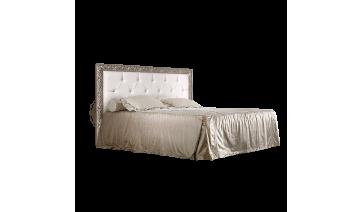 Кровать «Тиффани» (1,8 м) с мягким элементом со стразами с подъемным механизмом