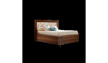 Кровать «Амели» (1,4 м) с мягким элементом