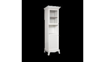 Шкаф «Амели» 1-но дв. (малая дверь и витраж) на ножках