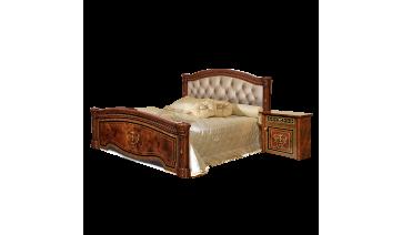 Кровать «Карина-3» (1,6 м) (2 спинки+мягкий элемент) с подъемным механизмом
