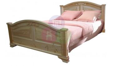 Кровать «Леонсия» с резьбой