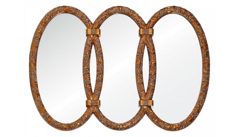 Зеркало Annabelle красное золото