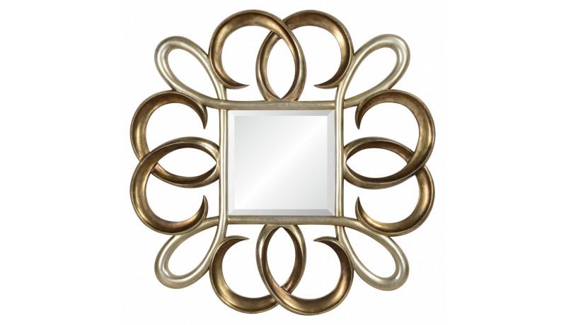Зеркало Rolf золото с серебром