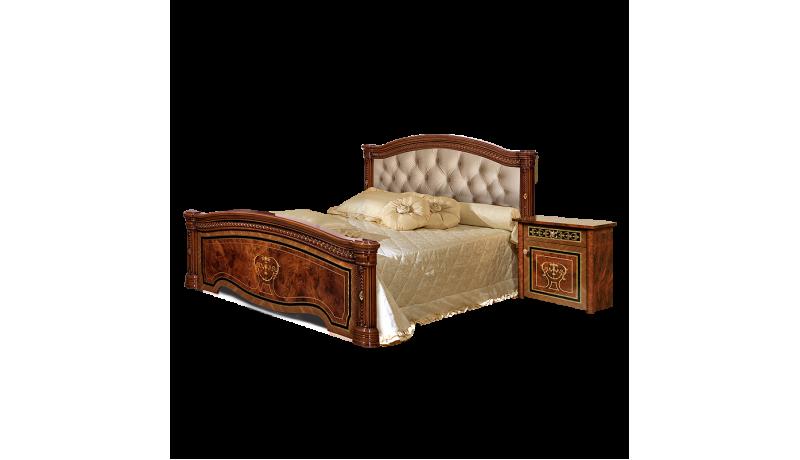 Кровать «Карина-3» (1,6 м) (2 спинки+мягкий элемент)