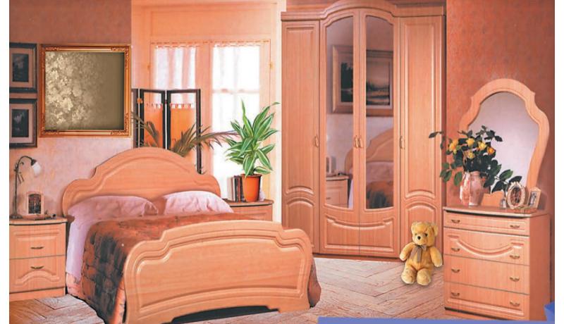 Спальный гарнитур «Сюзанна»