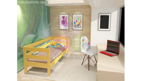 Детская кровать «Кадет»